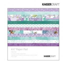 """Дизайнерско блокче 6.5""""х 6.5"""" - Kaiser craft Fairy dust paper pad 6,5x6,5"""""""