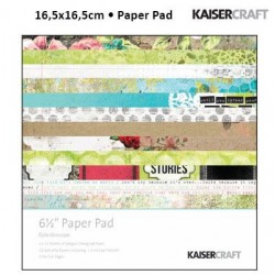 "Дизайнерско блокче 6.5"" х 6.5"" - Kaiser craft kaleidoscope paper pad 6,5x6,5"""