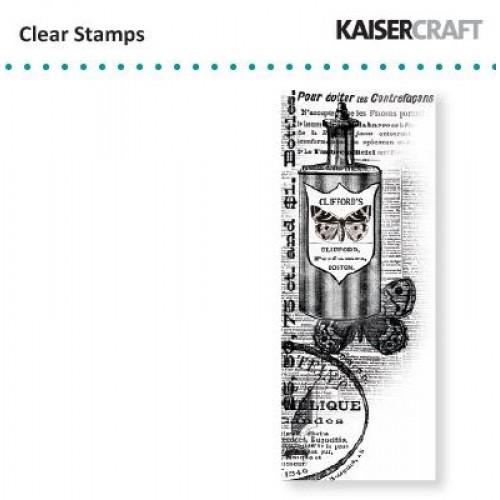 Прозрачен силиконов печат - Kaiser craft clear stamp perfume