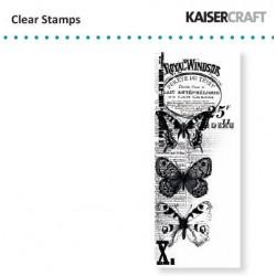 Прозрачен силиконов печат - Kaiser craft clear stamp windsor