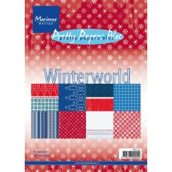 Дизайнерско блокче - Marianne Design pretty papers bloc winter world