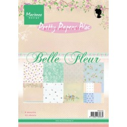 Дизайнерско блокче - Marianne Design pretty papers bloc belle fleur