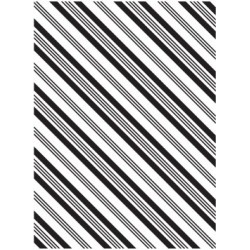 Папка за релеф - Darice - Embossing template 10,8x14,6cm stripe