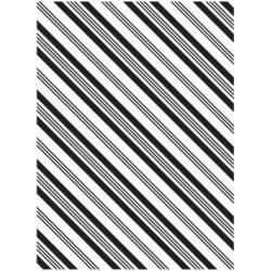 Папка за релеф - Darice - Embossing template 10,8x14,6cm stripe