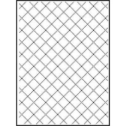 Папка за релеф - Darice - Embossing template 10,8x14,6cm wire fence