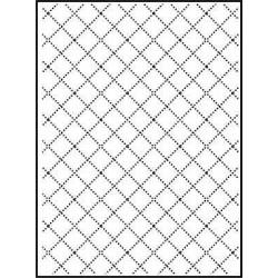 Папка за релеф - Darice - Embossing template 10,8x14,6cm wire fence
