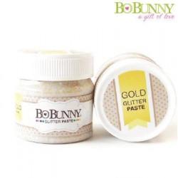 Блестяща златна паста - Bo Bunny glitter paste gold