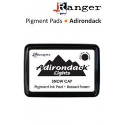 Пигментно бяло мастило -  Ranger - Adirondack pigment ink pads snow cap