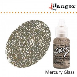 Брокатено лепило - Stickles glitter glue mercury glass
