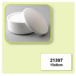 Елепсовидна кутийка от стирофом - Styropor box round 150x90