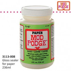 Медиум гланц - Mod Podge 236ml 8 oz. paper gloss - 236мл.