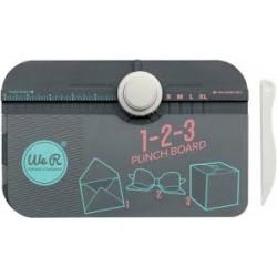 Пънч - дъска 1-2-3 за правене на пликове, кутийки и панделки - Memory Keepers 1-2-3 punch board