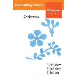 Щанци за изрязване на клончета - Marianne Design Creatables mistletoe