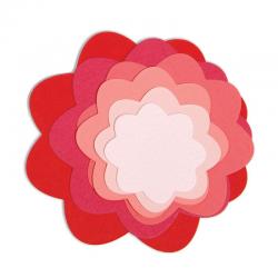 Тънки метални щанци цветя - Sizzix Framelits Die set 7pk flowers
