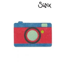 Щанца за изрязване камера / фотоапарат - Sizzix bigz die camera #2