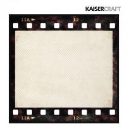 Двустранен дизайнерски лист - негатив - Kaiser craft close up! die cut negative