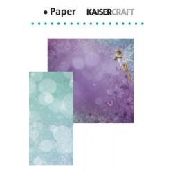 "Двустранен дизайнерски картон - Kaiser craft Fairy dust double-sided 12x12"" pixie"