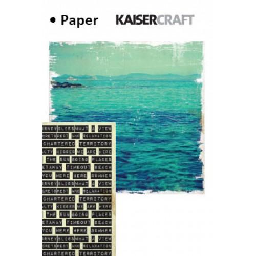 "Двустранен дизайнерски картон - Kaiser craft paradiso double-sided 12x12"" holiday"
