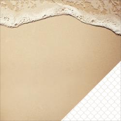 "Двустранен дизайнерски лист пясък и море - Kaiser craft coastal escape double-sided 12x12"" shoreline"