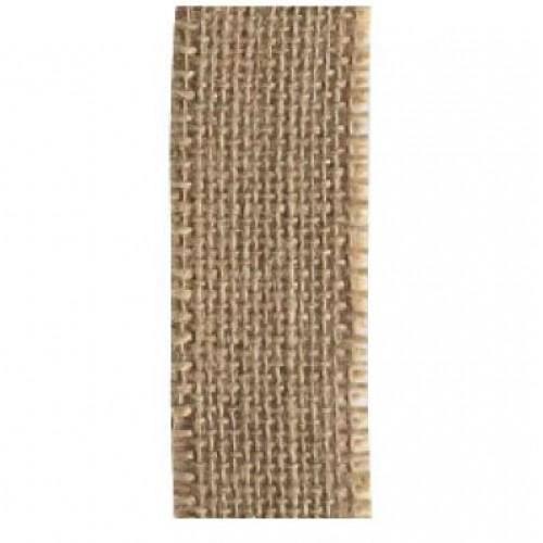 Лента зебло, широка 35мм - Juteband naturel 35mm x 5m - 5 метра