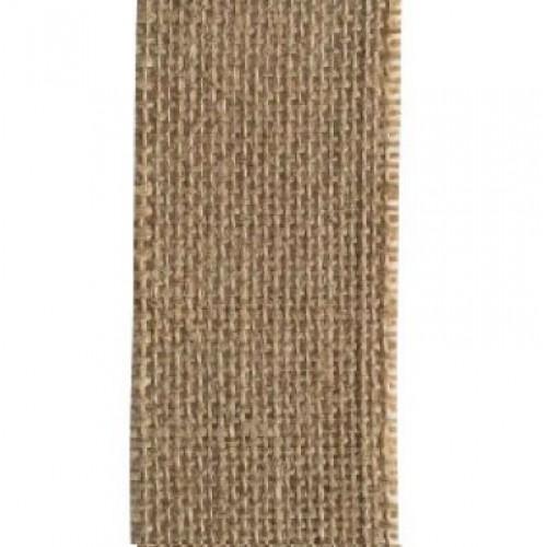 Лента зебло, ширина 5мм - Juteband naturel 50mm x 5m - 5 метра