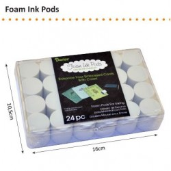 Тампон от фин дунапрен за разнасяне на мастило - Foam pods  - 1бр.