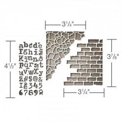 Тънки метални шаблони за микс медиа - Sizzix thinlits die set mixed media #3