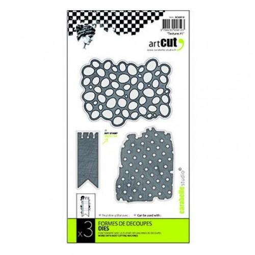 Тънки метални щанци - текстури - Dies 91x70mm textures #1