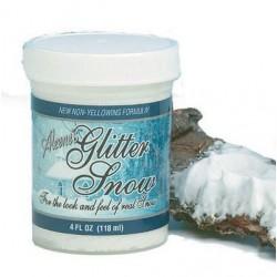 Пухкав изкуствен сняг - Aleene's Glitter snow 118ml