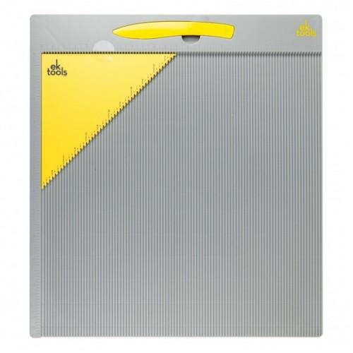 """Дъска за прегъване/биговане, пликове и кутии - 12""""х 12"""" в инчове - EK tools standard score board"""