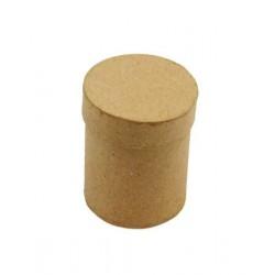 Цилиндрична кутия от папие маше - d - 11см, височина - 15см