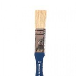 Плоска четка - 1,25см - Brush flat pig hair