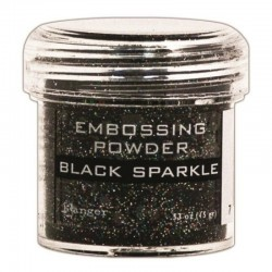 Ембосинг пудра - Ranger - Black Sparkle Embossing Powder
