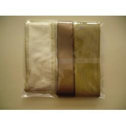 Комплект коледни панделки - всяка с дължина 3-4метра