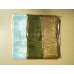 Комплект панделки от органза
