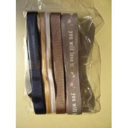 Комплект панделки с принт - 3-4 метра всяка
