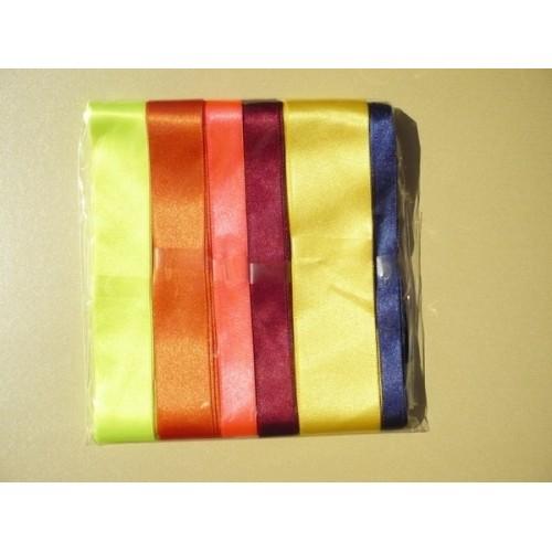 Комплект от панделки сатен и рипс - всяка с дължина 3-4метра